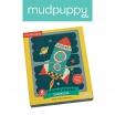 Fotografia, na której jest Mudpuppy Puzzle Patyczki Środki transportu 24 elementy 3+