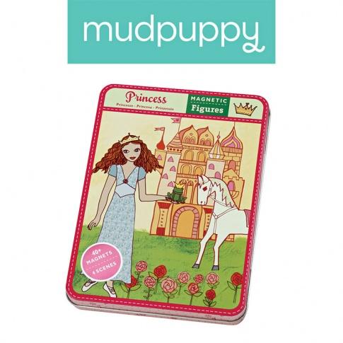 Fotografia, na której jest Mudpuppy Magnetyczne postacie Księżniczki 6+