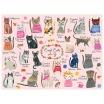 Fotografia, na której jest Mudpuppy Puzzle rodzinne Koty 1000 elementów 8+
