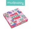 Fotografia, na której jest Mudpuppy Zestaw 4 gier – Memo, Bingo, Domino i Koło fortuny Księżniczka