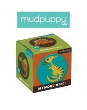 Mudpuppy Gra Mini Memory Dinozaury
