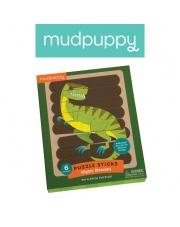 Mudpuppy Puzzle Patyczki Potężne dinozaury 24 elementy 3+