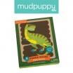 Fotografia, na której jest Mudpuppy Puzzle Patyczki Potężne dinozaury 24 elementy 3+