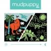 Fotografia, na której jest Mudpuppy Puzzle świecące w ciemności Dinozaury 100 elementów 5+