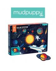 Mudpuppy Puzzle Układ Słoneczny z elementami w kształcie planet 5+