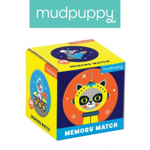 Fotografia, na której jest Mudpuppy Gra Mini Memory Kosmos