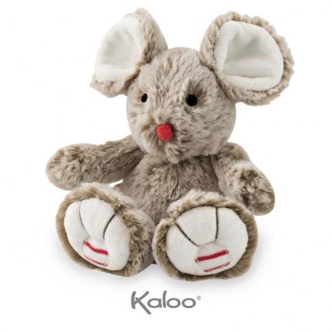 Fotografia, na której jest Kaloo Myszka piaskowy beż 19 cm kolekcja Rouge