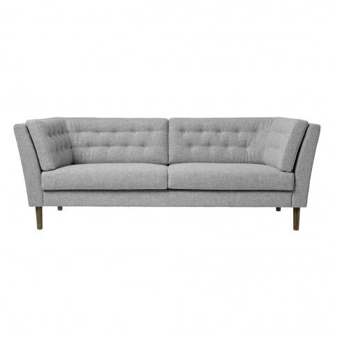 Fotografia, na której jest Sofa PAUSE - jasny szary - wełna - Bloomingville