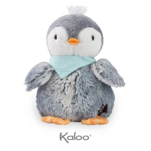 Fotografia, na której jest Kaloo Pingwin Szary w pudełku 19 cm kolekcja Les Amis
