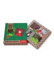 Memo story  - Mon Petit Art | Czerwony Kapturek