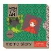 Fotografia, na której jest Memo story  - Mon Petit Art   Czerwony Kapturek