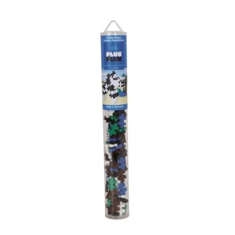 Fotografia, na której jest Klocki Plus-Plus, Mini Tuba Zebra - 100 szt
