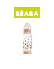 Beaba Butelka antykolkowa 240 ml Rainbow nude