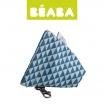 Fotografia, na której jest Beaba Opakowanie na smoczek Play Print blue