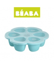 Beaba Silikonowy pojemnik do mrożenia 6 x 90 ml blue