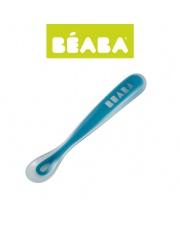 Beaba Łyżeczka silikonowa  blue (opakowanie zbiorcze 8szt.)