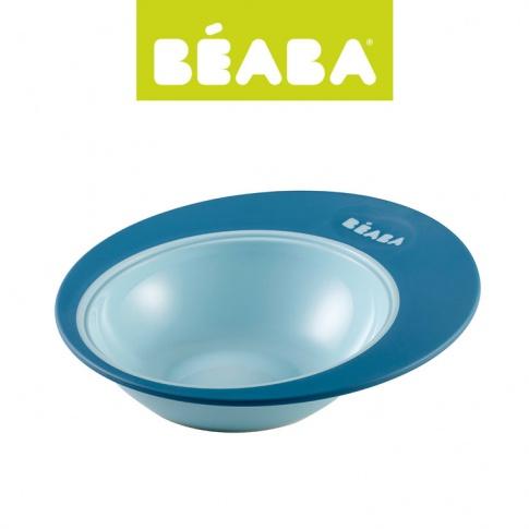 Fotografia, na której jest Beaba Miseczka Ellipse 210ml blue