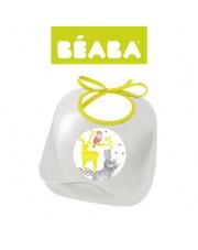 Beaba Śliniak z kieszonką Bunny