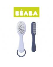 Beaba Szczoteczka do włosów i grzebień mineral (opakowanie zbiorcze 6 szt.)