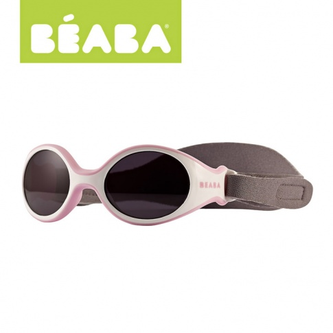 Fotografia, na której jest Beaba Okularki Baby XS pink