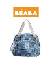 Beaba Torba dla mamy Geneva PLAY PRINT blue