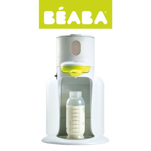 Fotografia, na której jest Beaba Bib'expresso® Ekspres do mleka 3w1 neon