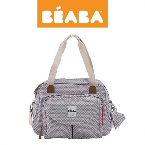 Fotografia, na której jest Beaba Torba dla mamy Geneva SMART COLORS grey