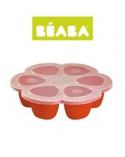 Beaba Silikonowy pojemnik do mrożenia 6 x 90 ml paprika