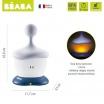 Fotografia, na której jest Lampka nocna LED przenośna Pixie Stick 100h świecenia Mineral, Beaba