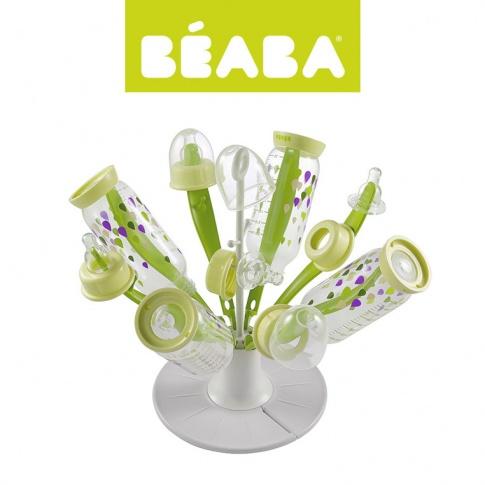Fotografia, na której jest Beaba Składana suszarka do butelek i smoczków Kwiat neon KOLEKCJA 2017