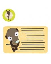 LASSIG Deseczka śniadaniowa Wildlife Meerkat