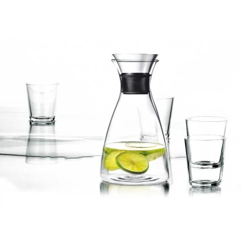 Fotografia, na której jest Karafka plus 4 szklanki - Eva Solo