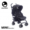Fotografia, na której jest MINI by EASYWALKER Wózek spacerowy z osłonką przeciwdeszczową  6,5kg Midnight Jack