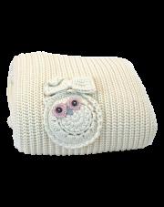 Kocyk Cottonlove śmietankowy - MAYLILY