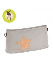 LASSIG Casual Label Organizer do Wózka Cork Star light grey
