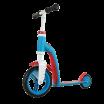 Fotografia, na której jest Highwaybaby 2w1 hulajnoga i rowerek 1+ Blue, SCOOTANDRIDE