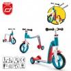 Fotografia, na której jest SCOOTANDRIDE Highwaybaby PLUS 2w1 hulajnoga i rowerek 1+ Blue