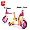 Fotografia, na której jest SCOOTANDRIDE Highwaybaby PLUS 2w1 hulajnoga i rowerek 1+ Pink