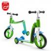 Fotografia, na której jest SCOOTANDRIDE Highwaybaby PLUS 2w1 hulajnoga i rowerek 1+ Green