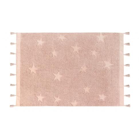 Fotografia, na której jest Dywan bawełniany HIPPY STARS - różne kolory - Lorena Canals