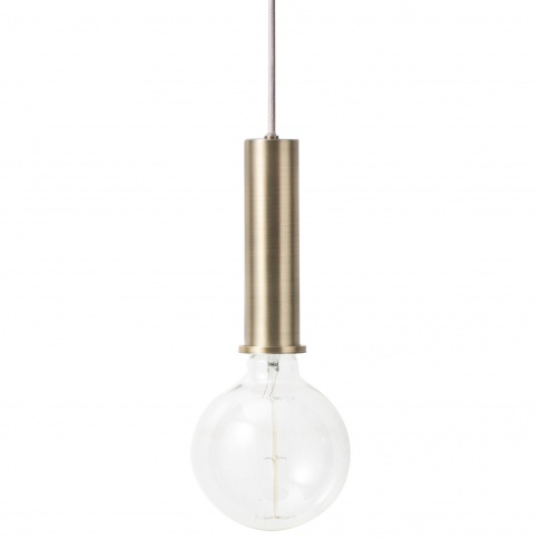 Fotografia, na której jest Lampa COLLECT Socket Pendant - ferm LIVING | wysoka
