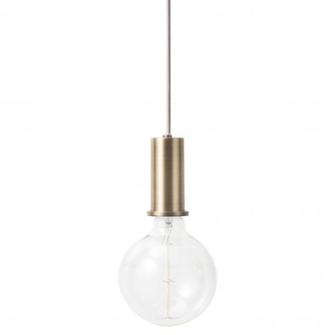 Fotografia, na której jest Lampa COLLECT Socket Pedant - ferm LIVING | niska