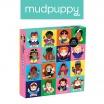 Fotografia, na której jest Mudpuppy Puzzle rodzinne Niezwykłe kobiety 500 elementów 8+
