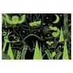 Fotografia, na której jest Mudpuppy Puzzle świecące w ciemności W lesie 100 elementów 5+