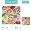 Fotografia, na której jest Mudpuppy Puzzle podłogowe Jumbo Wróżki 25 elementów 2+