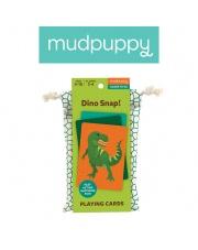 Mudpuppy Gra karciana Dino kłap! w podróżnym opakowaniu 4+