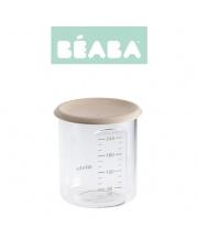 Beaba Słoiczek z hermetycznym zamknięciem 240 ml nude