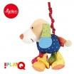 Fotografia, na której jest SIGIKID Przytulanka aktywizująca Pies z gryzakiem, wibracją i szeleszczącą folią 6m+ PlayQ