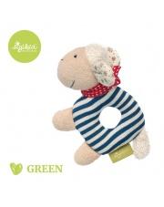 SIGIKID Grzechotka przytulanka Owieczka kolekcja ekologiczna Green