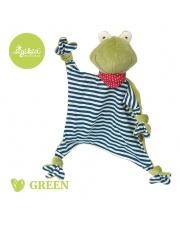 SIGIKID Przytulaczek – komforter Żabka kolekcja ekologiczna Green